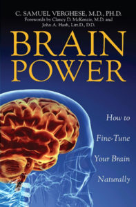 Brain Power book by Dr. Samuel Verghese